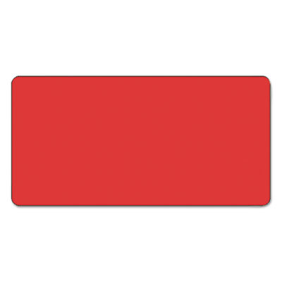 CC Color-Coded Labels, Self-Adhesive, 1w x 2h, Red, 250 Labels/R