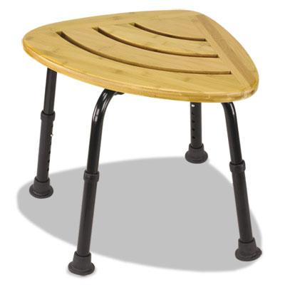Bamboo Bath Seat, Woodgrain, 18 x 24 x 13 1/2-18 1/2