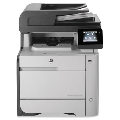 Color LaserJet Pro M476nw Multifunction Printer, Copy/Fax/Print/