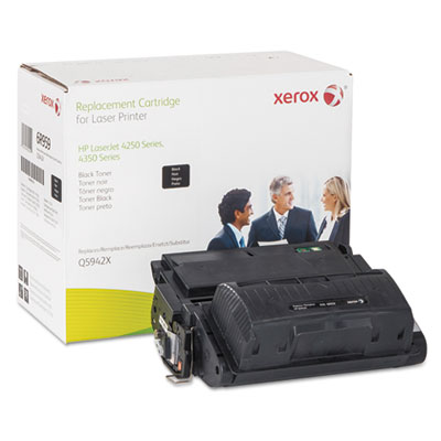 006R00959 Replacement High-Yield Toner for Q5942X (42X), Black<br />91-XER-006R00959
