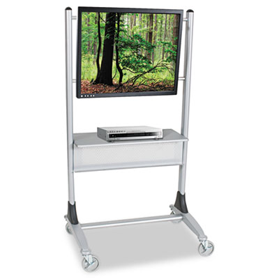 Platinum Series Plasma/LCD Cart, One-Shelf, 35w x 25-1/2d x 67h,