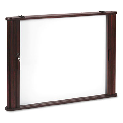 Conference Room Cabinet, Magnetic Dry Erase Board, 44 x 4 x 32,