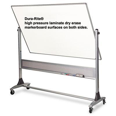 Platinum Reversible Dry Erase Board, 72 x 48