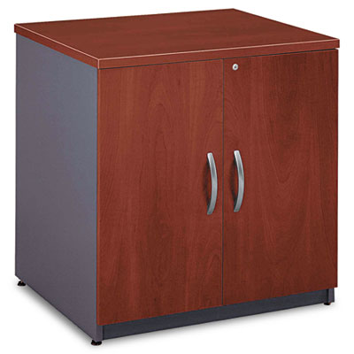 "30""W Storage Cabinet Series C, Hansen Cherry/Graphite Gray"
