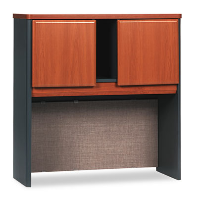 """Series A Hutch, 36"""" Wide, Natural Cherry"""