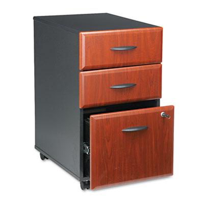 Mobile Pedestal (B/B/F) (Assembled) Series A Hansen Cherry