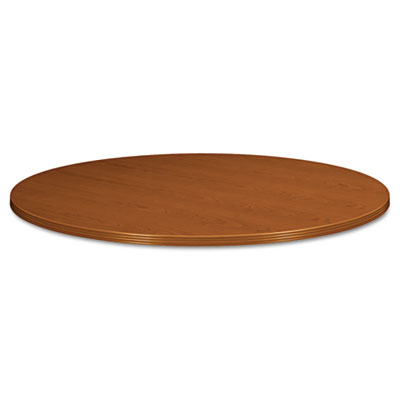 "BW Veneer Series Round Conference Table Top, 42"" Diameter, Bourb"