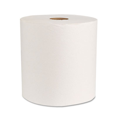 "Boardwalk Green Universal Roll Towels, Natural White, 8""x800ft,"