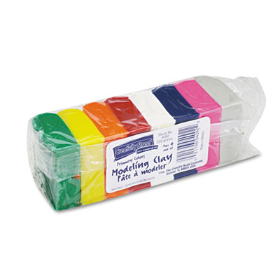 Modeling Clay Assortment, 27 1/2g each Assorted Bright, 220 g