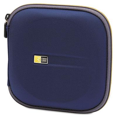 CD Wallet, Holds 24 Disks, Blue