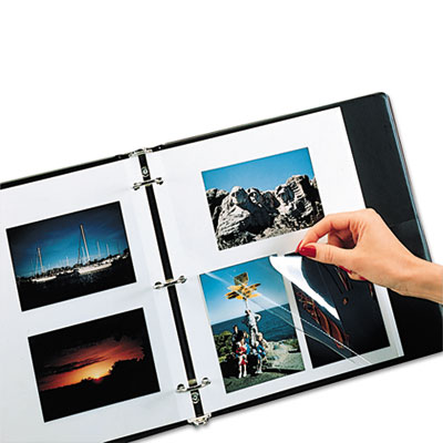 Redi-Mount Photo Mounting Sheets, 11 x 9, 50/BX