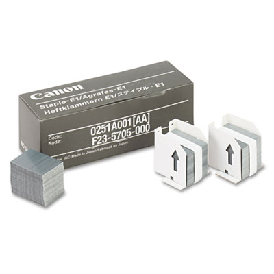 Staples for Canon IR550/600/6045/Others, Three Cartridges, 15,00
