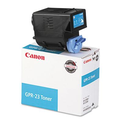 0453B003AA (GPR-23) Toner, 14000 Page-Yield, Cyan