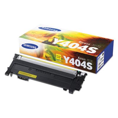 CLT-Y404S (SU448A) Toner, 1000 Page-Yield, Yellow<br />91-SAS-SU448A