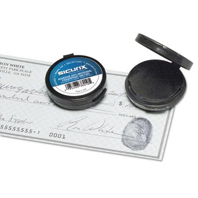 Fingerprint Ink Pad 1 2 Diameter Black