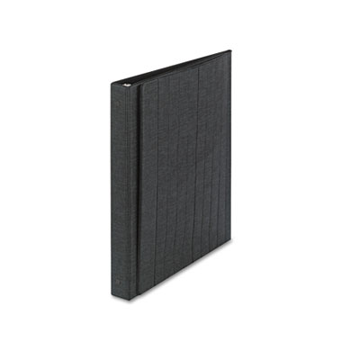 "Easel Ring Binder, Horizontal, 1"", 11"" x 8-1/2"", Black"