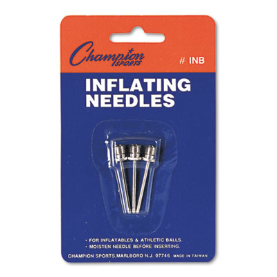Nickel-Plated Inflating Needles for Electric Inflating Pump, 3/P