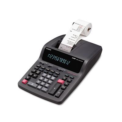 DR-210TM Two-Color Desktop Calculator, Black/Red Print, 4.4 Line