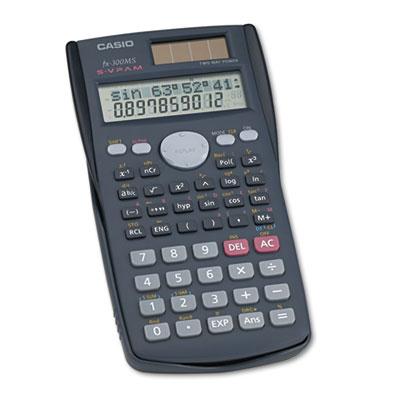 FX-300MS Scientific Calculator, 10-Digit LCD<br />91-CSO-FX300MS