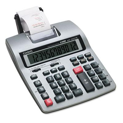 HR-150TM Two-Color Printing Calculator, Black/Red Print, 2.4 Lines/Sec<br />91-CSO-HR150TM