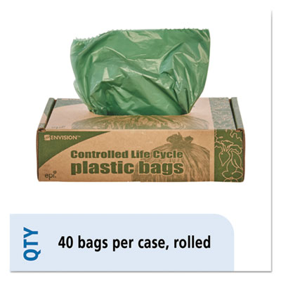 Stout By Envision Tm Controlled Life Cycle Plastic Trash Bags