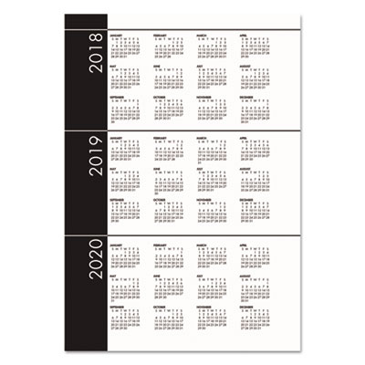 recycled 247 daily appointment bookmonthly planner 10 x 7 black