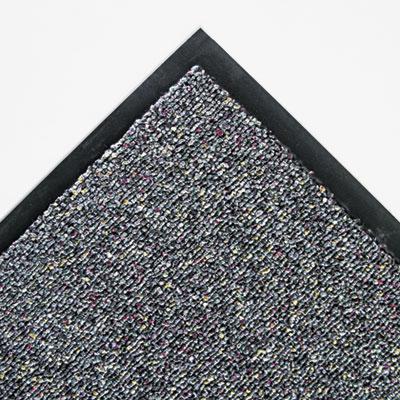 Classic Berber Wiper Mat, Nylon/Olefin, 48 x 72, Gray