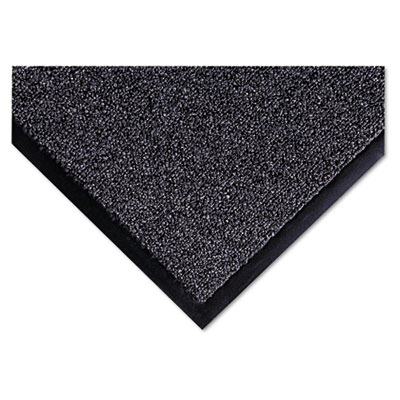 Cross-Over Indoor/Outdoor Wiper/Scraper Mat, Olefin/Poly, 36 x 6