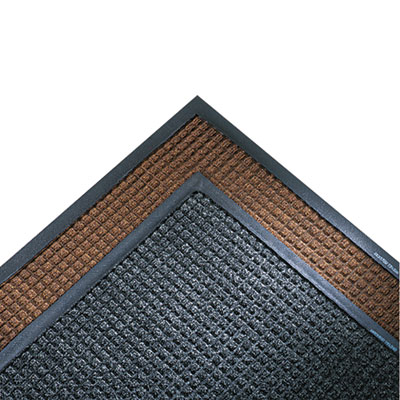 Super-Soaker Wiper Mat w/Gripper Bottom, Polypropyl, 34 x 119, C
