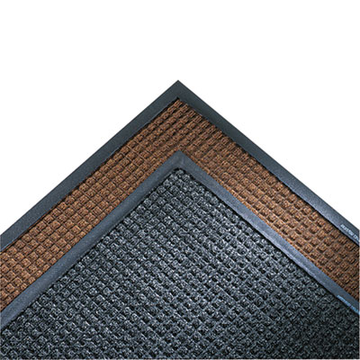 Super-Soaker Wiper Mat w/Gripper Bottom, Polypropyl, 34 x 119, D