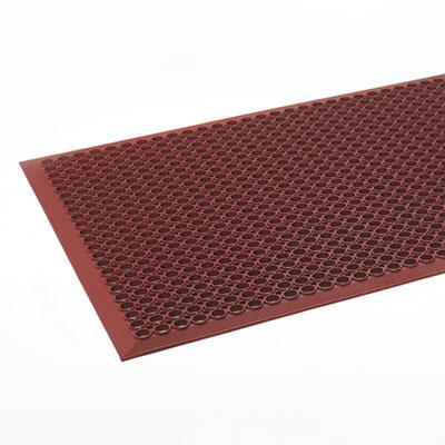 Safewalk-Light Heavy-Duty Anti-Fatigue Mat, Rubber, 36 x 60, Ter