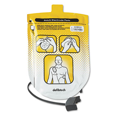 Adult Defibrillation Pads, for Adult Use Only (8 Yrs. Or Older),