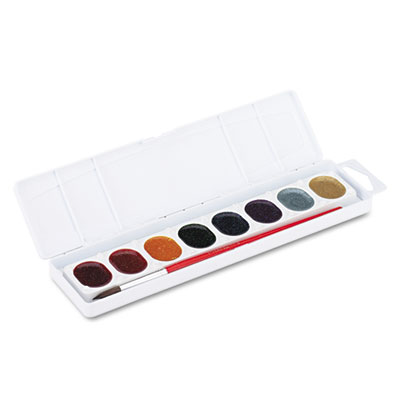 Glitter Washable Watercolors, 8 Assorted Colors