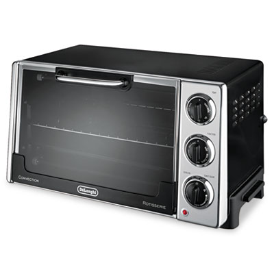 Convection Oven w/Rotisserie, 12.5L, .5 cu.ft, Black