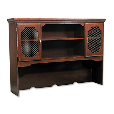Governors Series Hutch For Kneespace Credenza, 60w x 13d x 46h,
