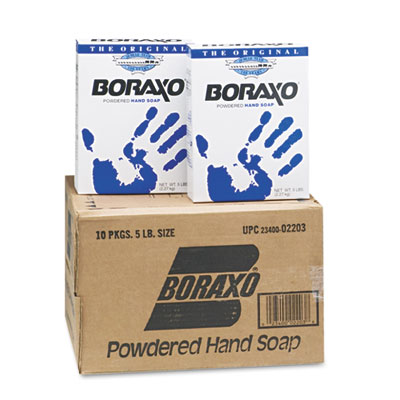 Powdered Original Hand Soap, Unscented Powder, 5lb Box, 10/Carto