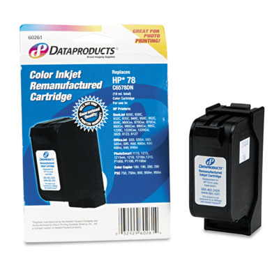 60261 Compatible Remanufactured Ink, 450 Page-Yield, Tri-Color
