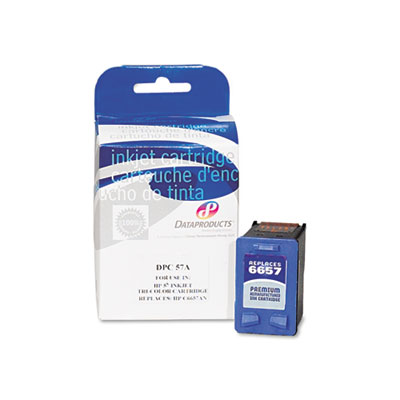 60267BOX Compatible Remanufactured Ink, 450 Page-Yield, Tri-Colo