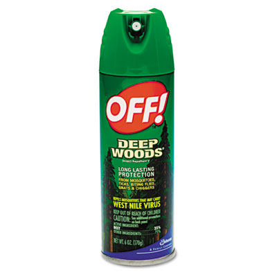 Off! Deep Woods Off!, 6-oz. Aerosol Can at Sears.com