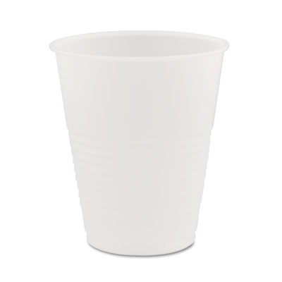 Conex Translucent Plastic Cold Cups, 12oz, 50/Bag, 20 Bags/Carto