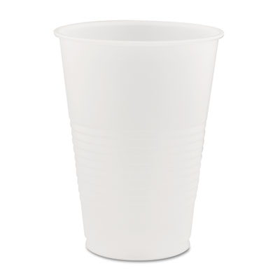 Conex Translucent Plastic Cold Cups, 14oz, 50/Bag, 20 Bags/Carto