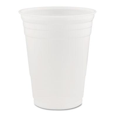 Conex Translucent Plastic Cold Cups, 16oz, 1000/Carton
