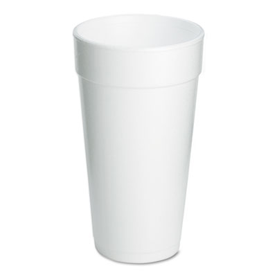 Drink Foam Cups, 20oz, 500/Carton