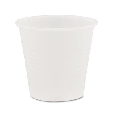 Conex Translucent Plastic Cold Cups, 3.5oz, 2500/Carton