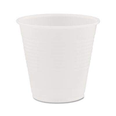 Conex Translucent Plastic Cold Cups, 5oz, 2500/Carton