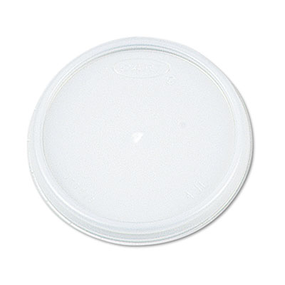 Plastic Lids, for 6oz Hot/Cold Foam Cups, Vented, 1000 Lids/Cart