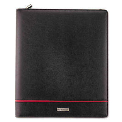 Deco Refillable Planner, 8-1/2 x 11, Black