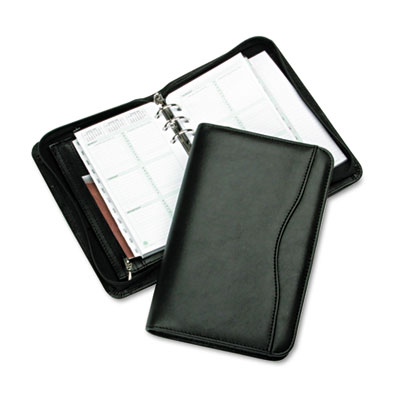Avalon Leatherlike Vinyl Zippered Organizer Starter Set, 3-3/4 x