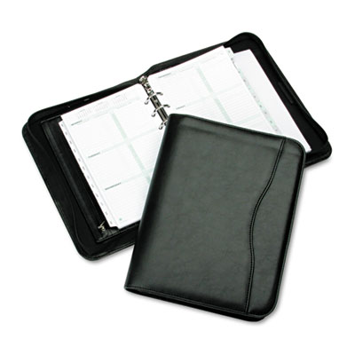 Avalon Leatherlike Vinyl Zippered Organizer Starter Set, 5-1/2 x