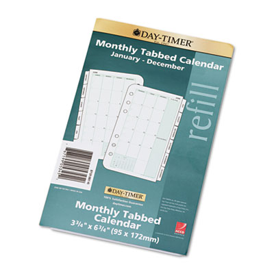 Dated Two Page-per-Month Organizer Refill, January-December, 3-3